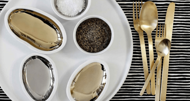 Gold Flatware from Herdmar's High Range Collection