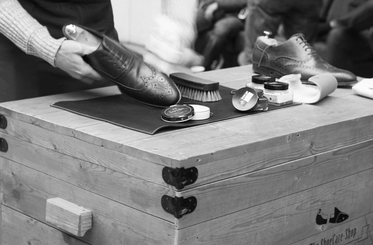 Shoe Care Shop header