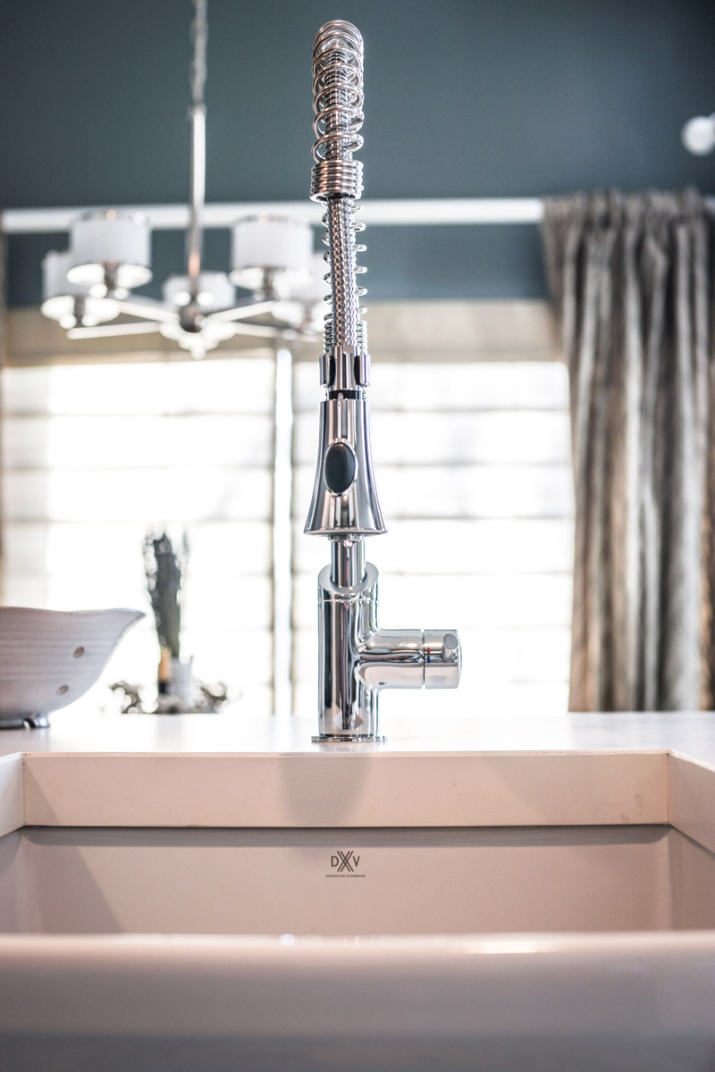 DXV Sonoma Faucet Hillside Sink