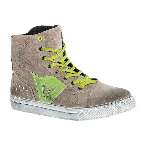 dainese_street_biker_air_shoes_sand_green_zoom