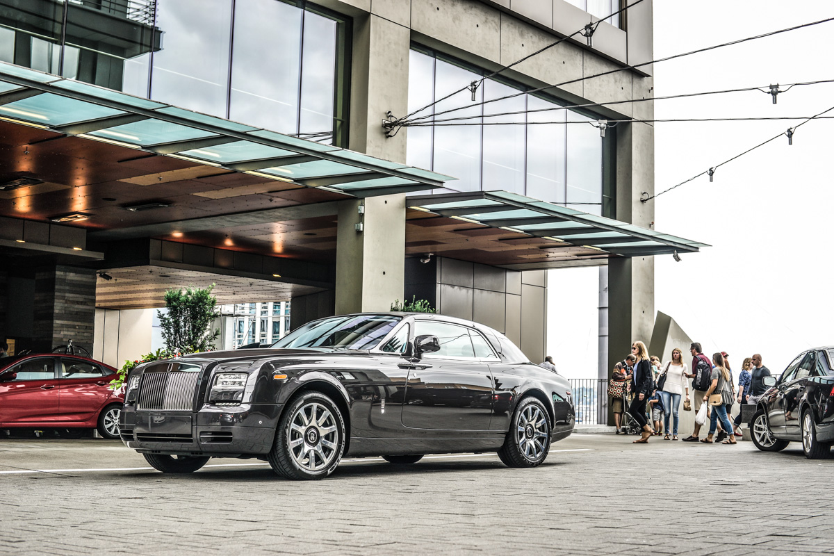 Four Seasons Seattle Rolls Royce Phantom
