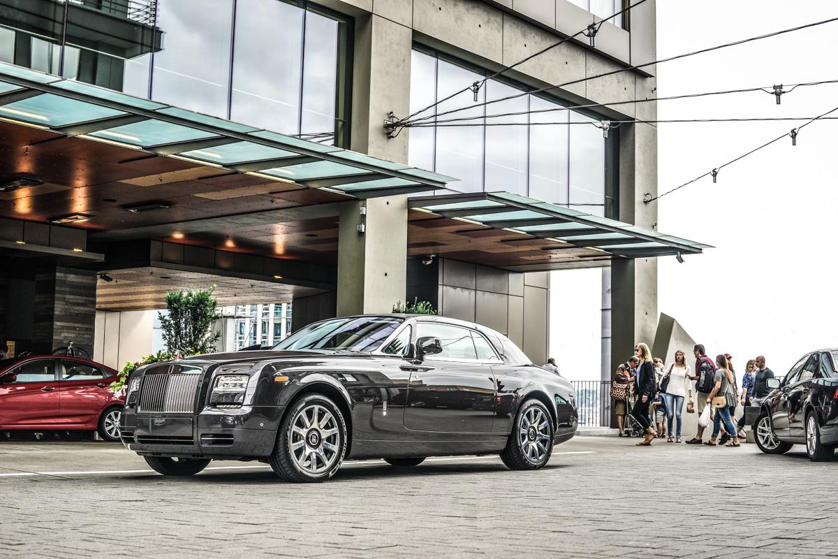 Four Seasons Seattle Rolls Royce Phantom