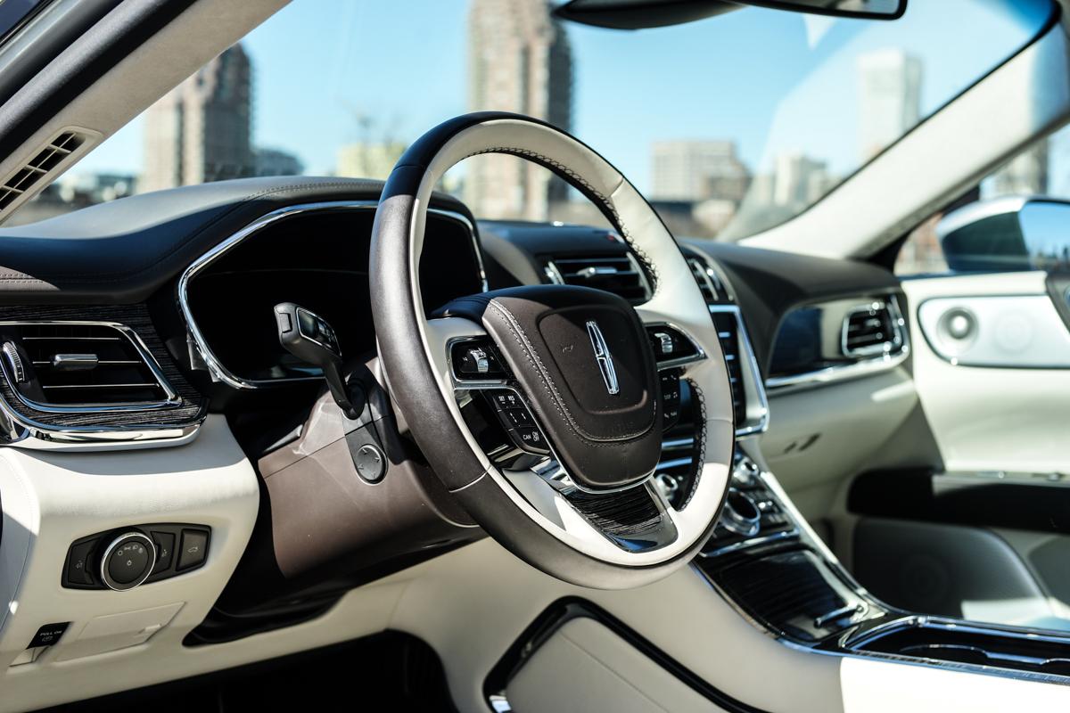 2017 Lincoln Continental Black Label Chalet Edition Interior