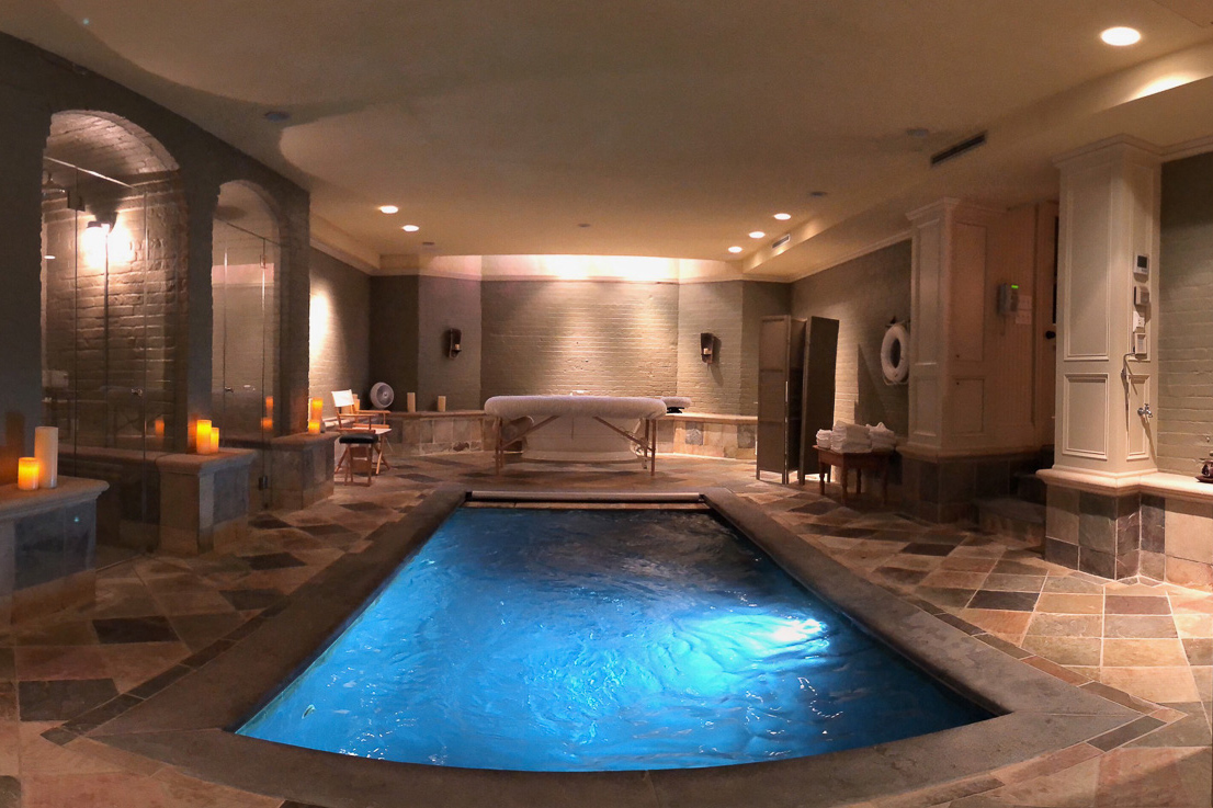 The spa at the Baker House offers yet another place to retreat from everyday life.