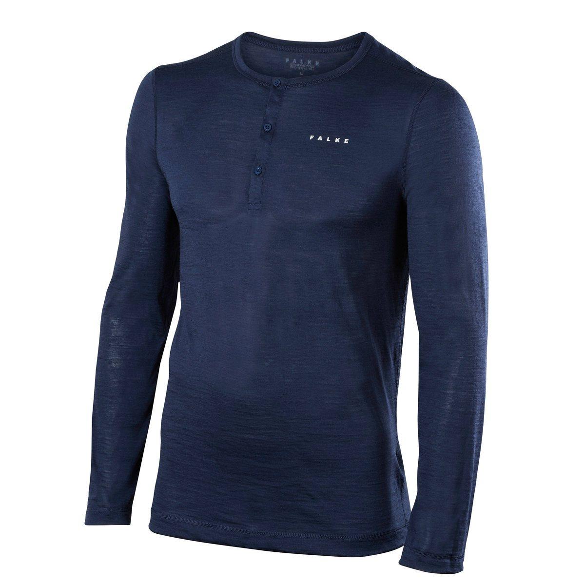 Men Silk-Wool Long Sleeved Shirt $142