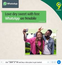 WhatsApp Free with 9mobile