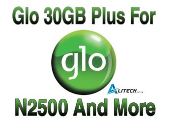 Glo 30GB