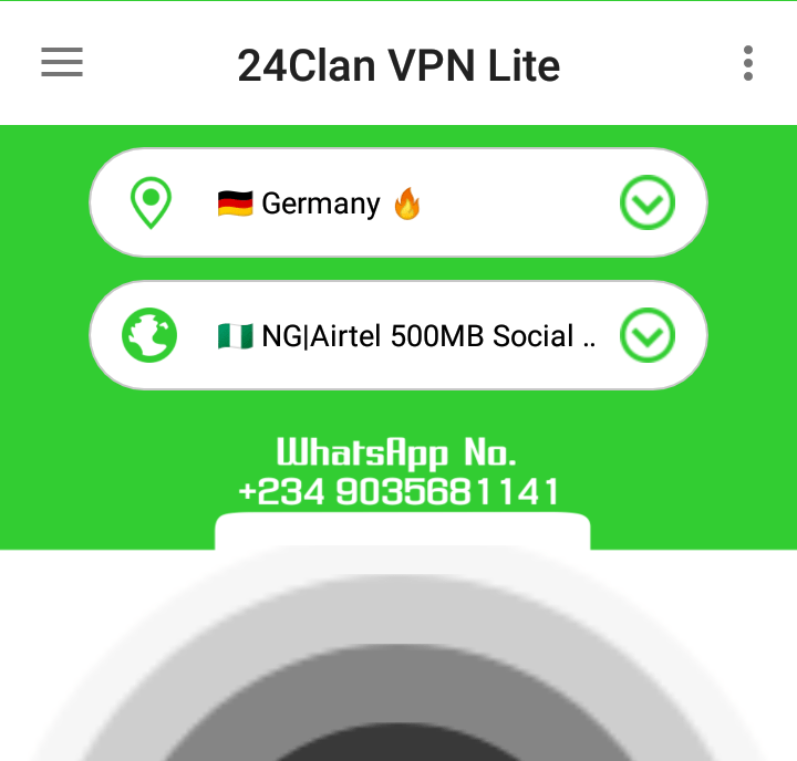 Airtel Social Bundle 500MB For N100 Power Up With 24Clan VPN Lte