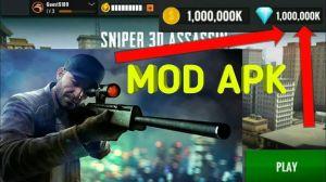 Sniper 3D Gun Shooter game mod apk + obb