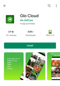 glo cloud app on play store