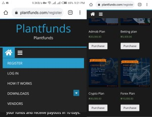 Plantfunds plans