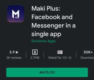 Maki Plus Mod Apk Latest Version 4.3.3 Paid