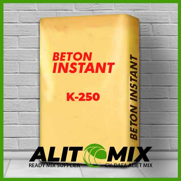 harga beton instant K-250
