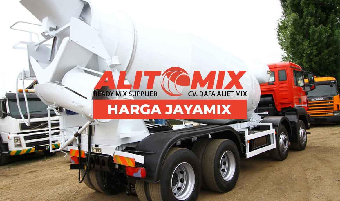 Harga Jayamix Beton Murah Per M3 2021 Harga Dalam Satu Mobil