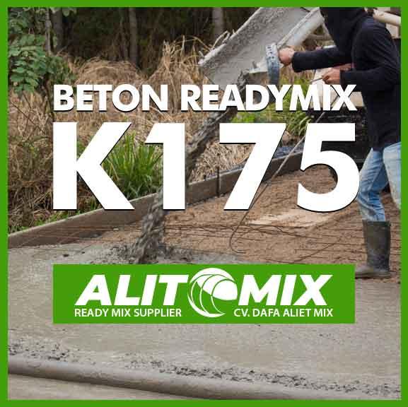 Readymix Beton Mutu K 175