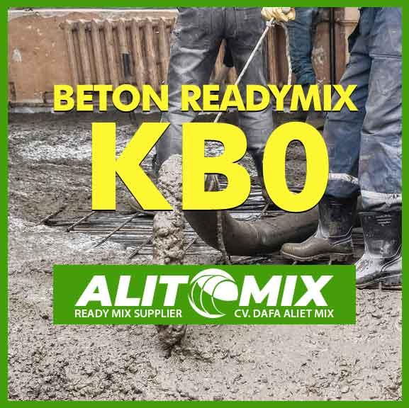 Readymix Beton Mutu K B0