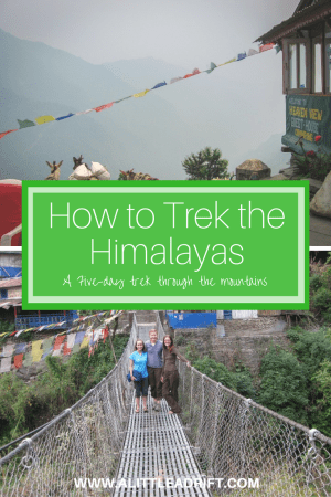 how to trek the himalayan mountains of Nepal