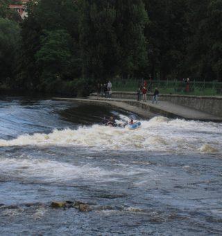rafting in Cesky Krumlov