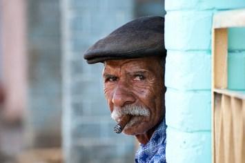 Cuban man with cigar