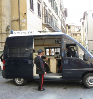 Carabinieri in Florence