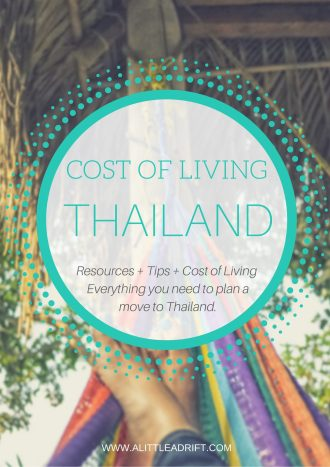 how much does it cost to live in Thailand?