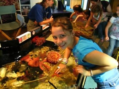 Homeschool travel aquarium