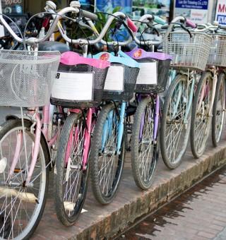 tourist bikes luang prabang