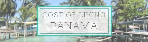 panama cost of living