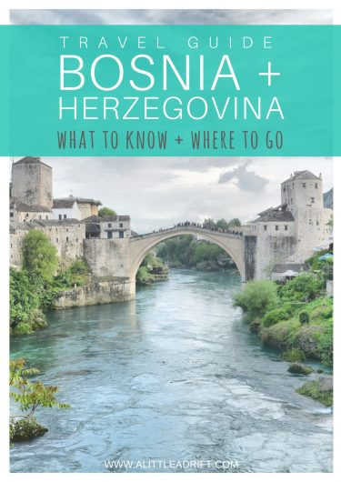 bosnia travel tips