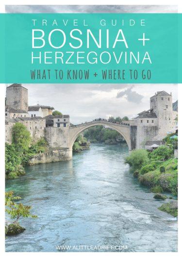 bosnia travel tips