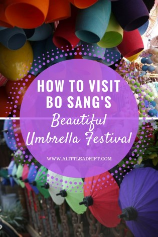 How to Visit Chiang Mai's Umbrella Festival