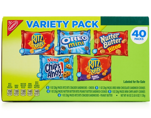 Boxed.com Nabisco Snack Pack