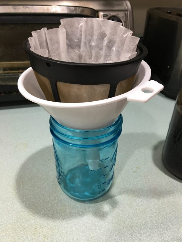 Cold Brew Filtering System