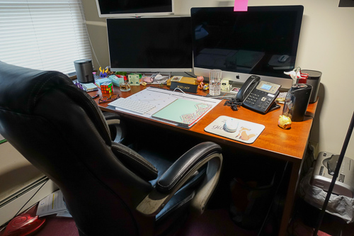 My Home Office Desk