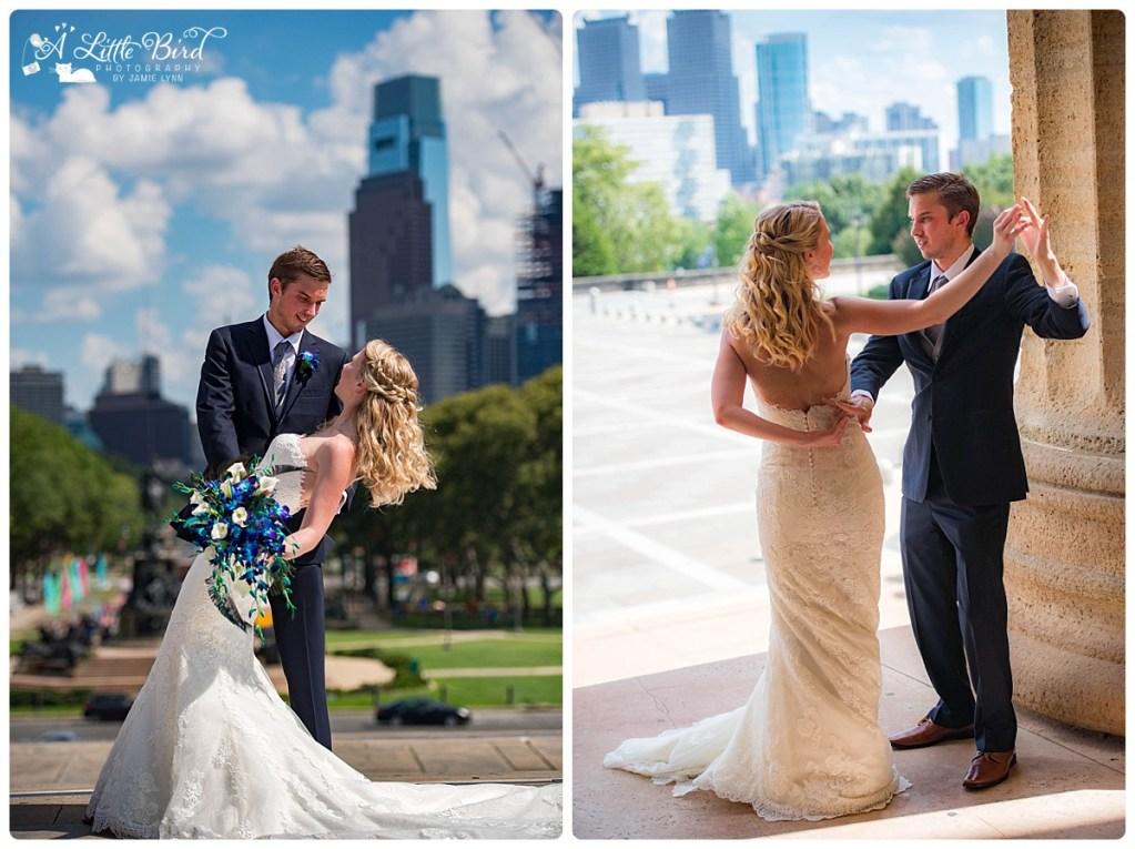 Philadelphia Art Museum Wedding photography