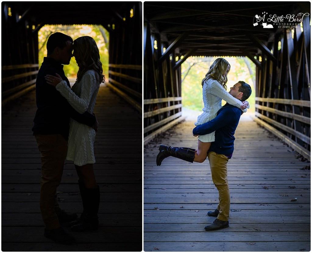 Wissahickon Park Engagement Photography