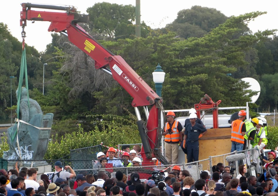 cecil rhodes statue being removed