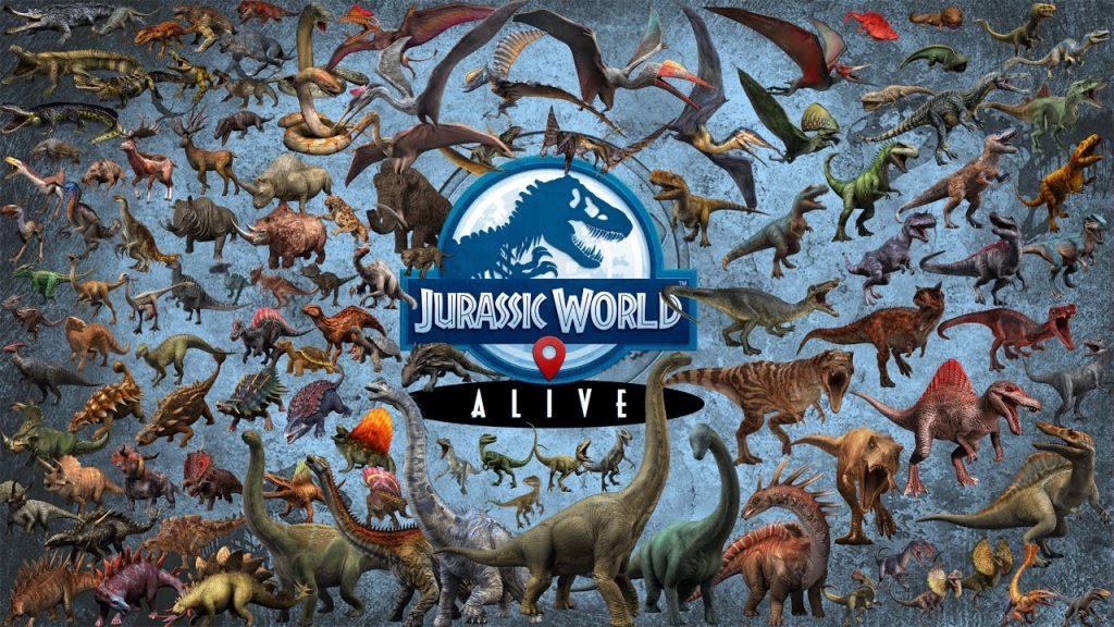 jurassic world alive video game