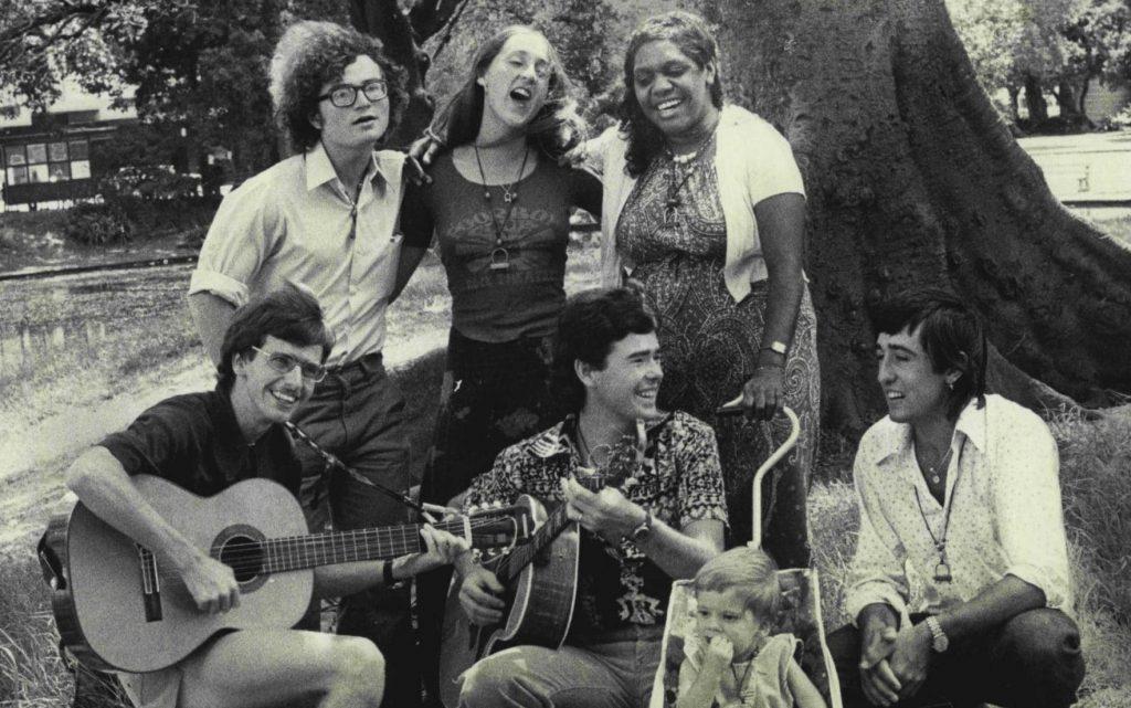 Children of God cult members singing