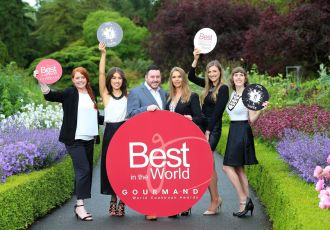 Gourmand Awards 2016 - TheTaste.ie team,, winners of Best Digital Food Magazine in the World - Bekah Molony - Irish Blogger