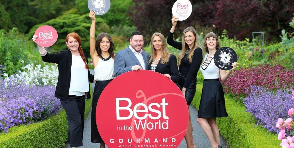 Gourmand Awards 2016 - TheTaste.ie team,, winners of Best Digital Food Magazine in the World - Bekah Molony - Irish Blogger