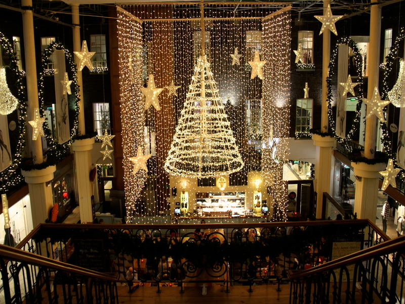 Christmas at Powerscourt Townhouse Centre | Bekah Molony | alittlebitofb.com