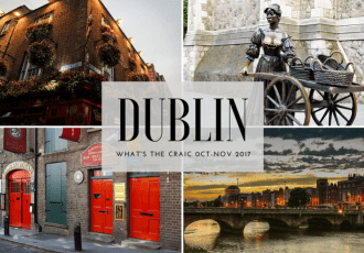 Cool Things Happening in Dublin October November 2017 Dublin, Ireland
