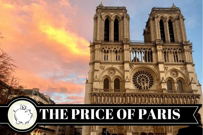 The cost of a weekend in Paris-Bekah Molony a Little bit of b