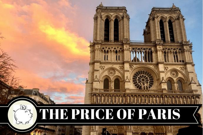 The cost of a weekend in Paris-Bekah Molony a Little bit of b
