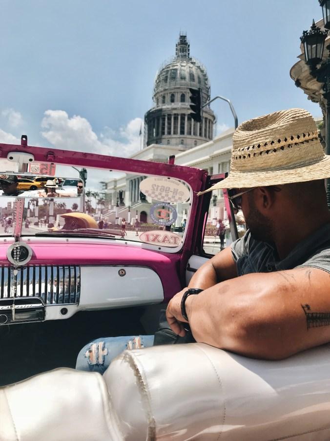 Pink Taxi Tour Havana | Cuba Trip | Travel | Bekah Molony | alittlebitofb.com