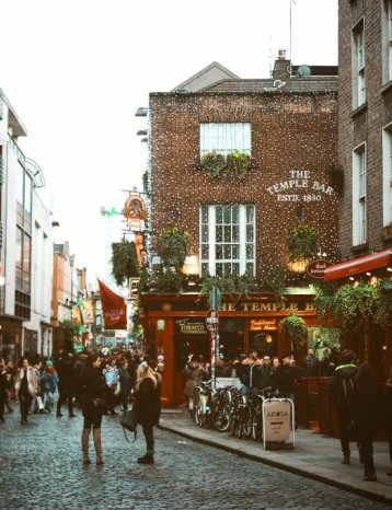 Music in Dublin-Temple Bar