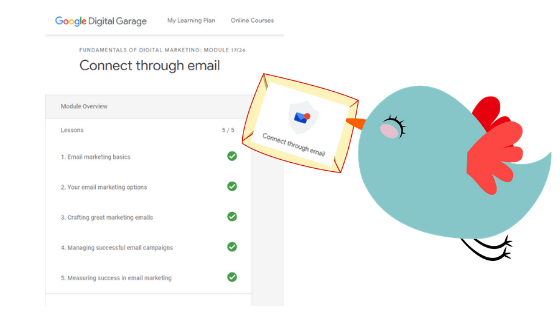 Google Garage Connect with Email - My Top 5 Fundamentals of Email Marketing_