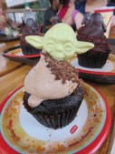 This year, they added the Master Yoda Nutella cupcake!