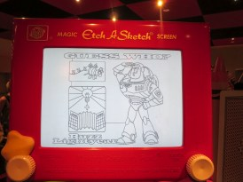 Loved Etch-a-Sketch, but could not make anything on them!